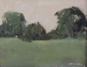 "Bill Sawczuk, ""Edge of the Meadow,"" 8x10"" Oil on Linen"